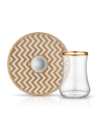 Koleksiyon Dervish Çay Seti 6'lı Zigzag-Koleksiyon